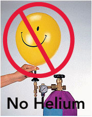 Affordable no helium balloons change to no helium balloons